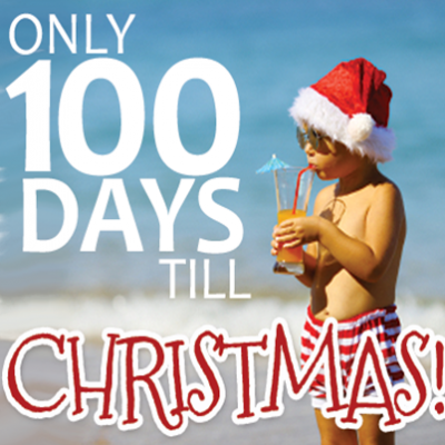 100 Days Till Christmas Sale!