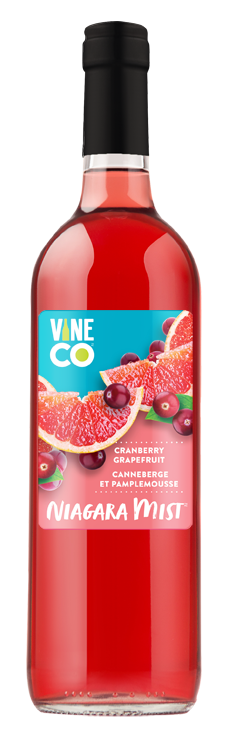 Vineco 2020 Niagara Mist Cran Grapefruit