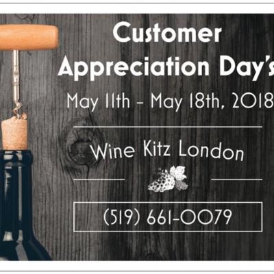 Customer Appreciation Days ON NOW!